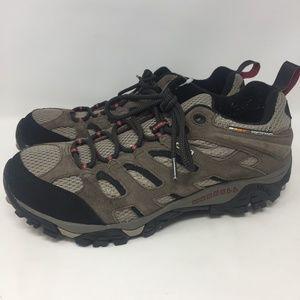 Merrell Dark Brown J88621W Moab 2 WP Low Hiking 9